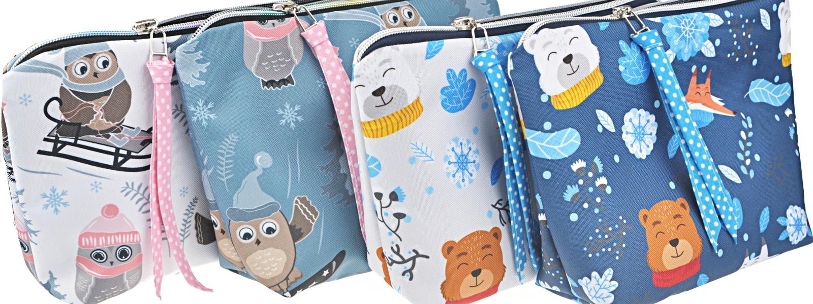 Wash Bags Wintertiere